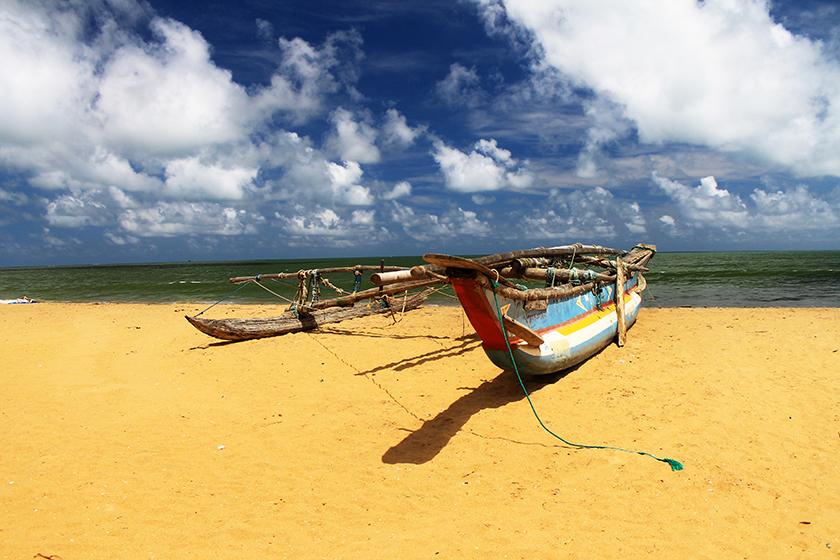 Плажът на Негомбо / Negombo Beach