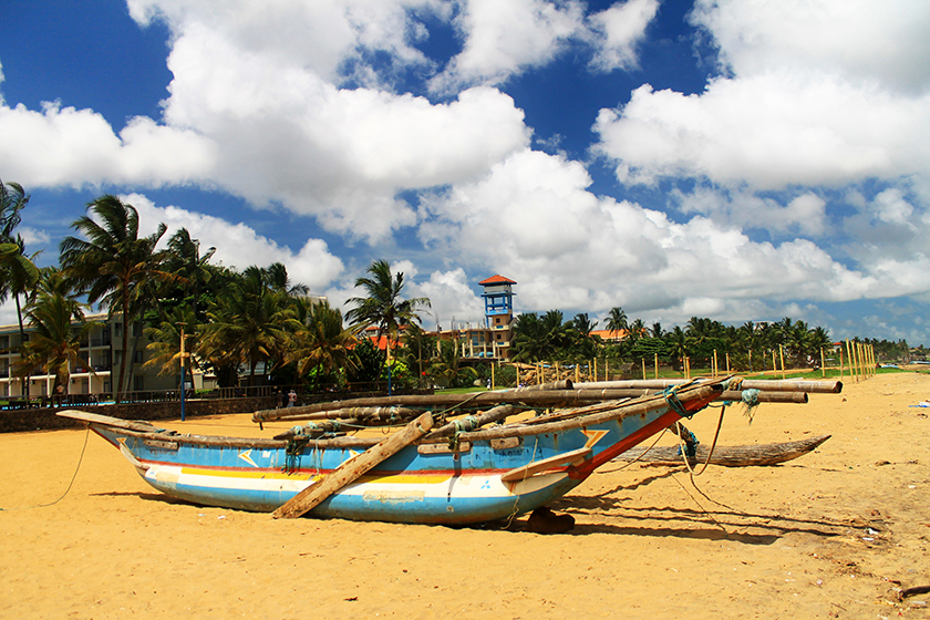 Плажът на Негомбо, Шри Ланка / Negombo Beach, Sri Lanka