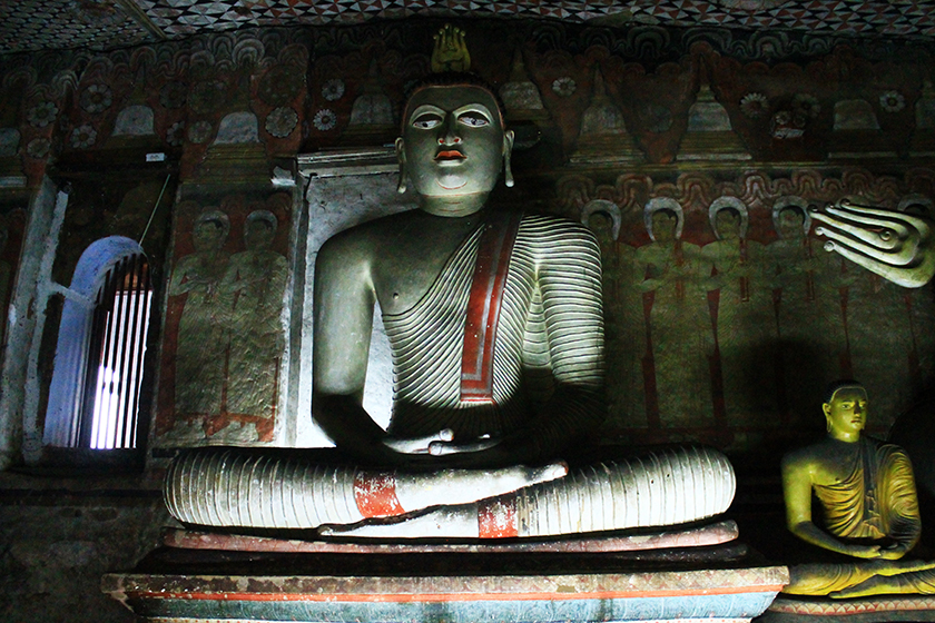 Пещерните храмове на Дамбула, Шри Ланка /Dambulla Cave Temples, Sri Lanka