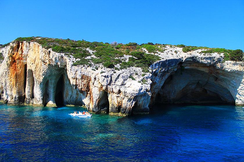 Сините пещери, Закинтос/ Blue Caves, Zakynthos