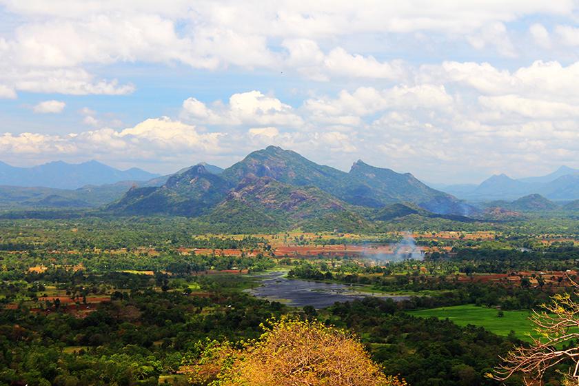 Гледка от Сигирия/The view from Sigiriya