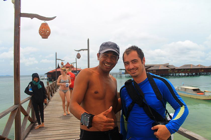 With Our Diving Instructor