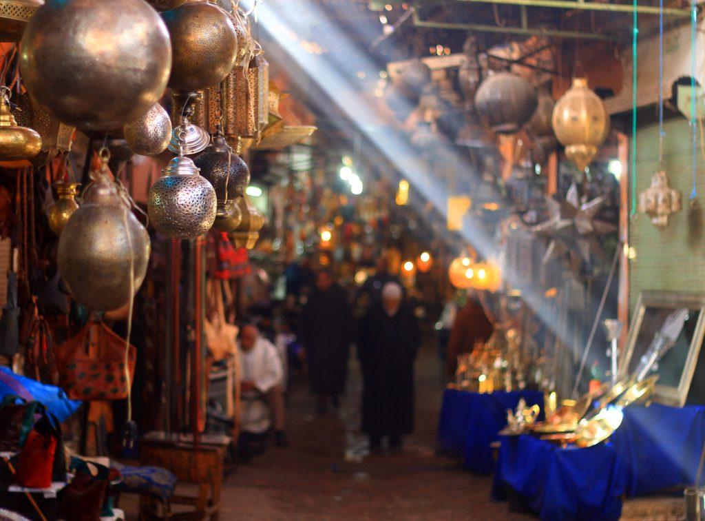Пазарите на Маракеш / The Souks Of Marrakech