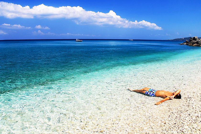Xigia Beach, Закинтос