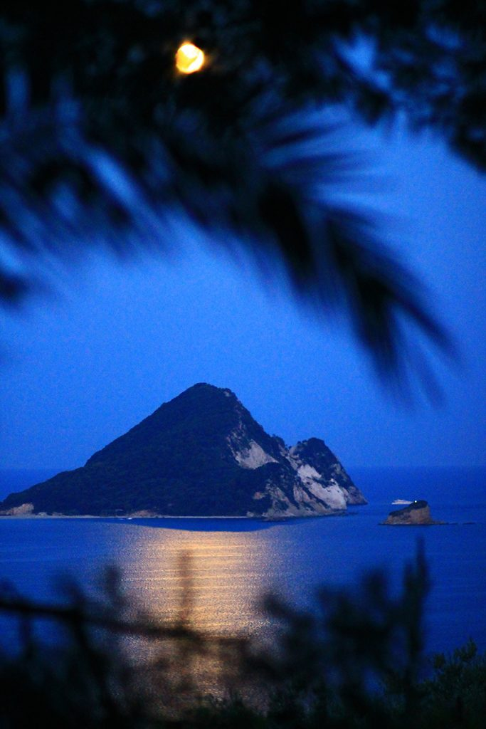 Остров Маратониси. Закинтос / Marathonisi Island, Zakynthos