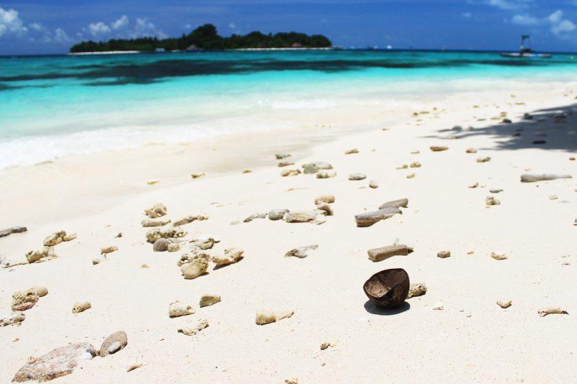 Плажът на остров Расду / The Beach Of Rasdhoo Island