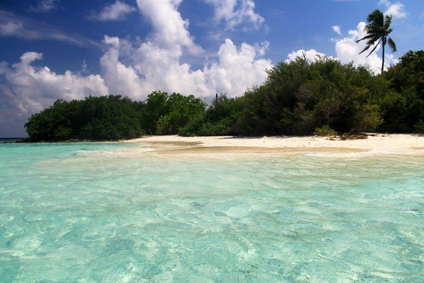 Madivaru Island Close To Rasdhoo Island, Maldives