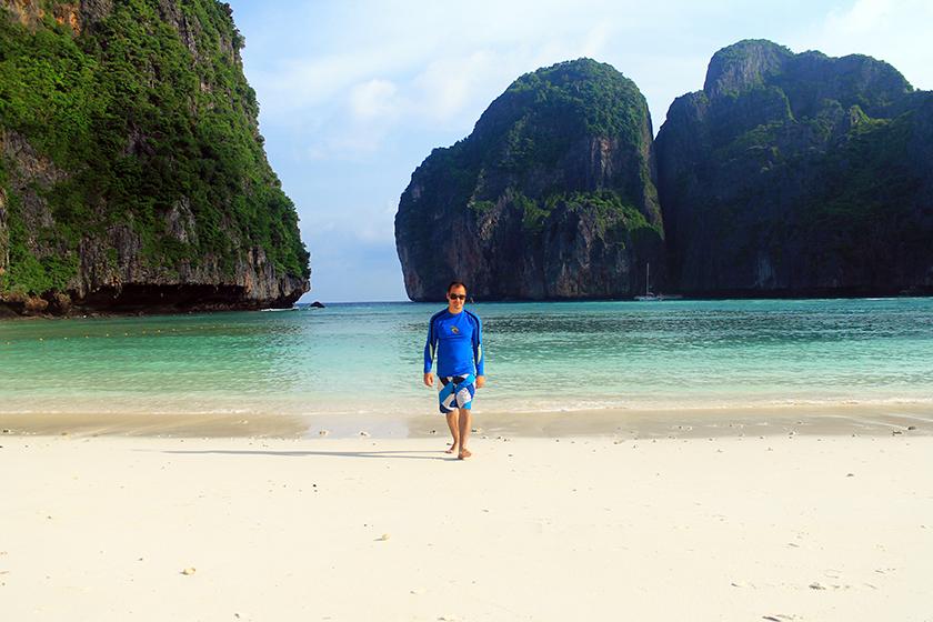 Плажът Мая Бей / Maya Bay Beach