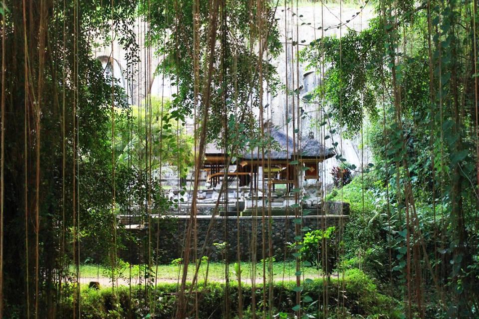 Храмът Гунунг Кави (Gunung Kawi Теmple), остров Бали, Индонезия, Bali Island, Indonesia