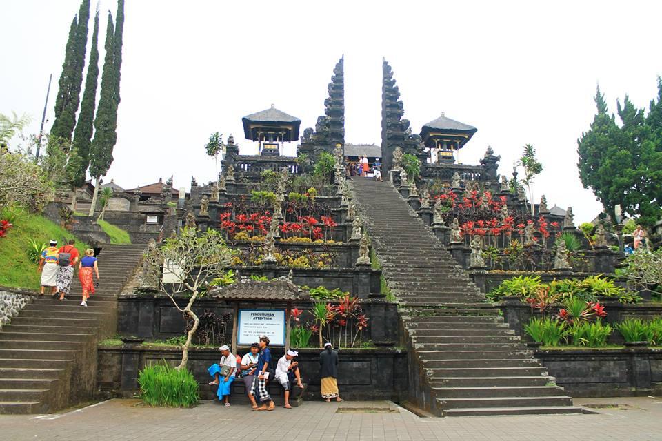 Храмът Бесаки (Besakih Temple), Остров Бали, Индонезия, Bali Island, Indonesia