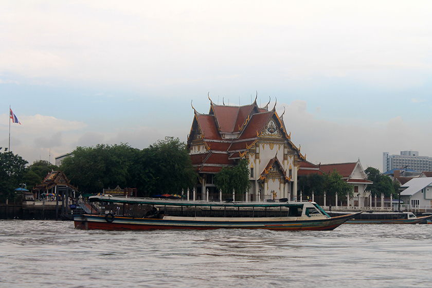 Река Чао Прая (Chao Praya River)