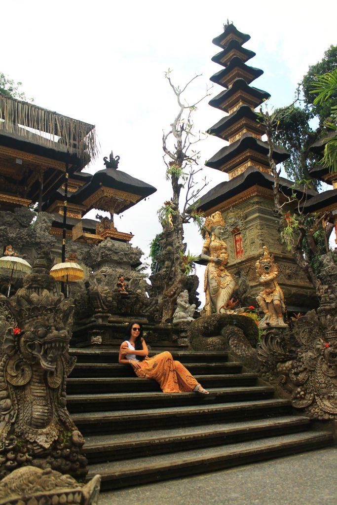 Храм в Убуд / Pura Gunung Lebah Temple, Ubud, Остров Бали, Индонезия, Bali Island, Indonesia