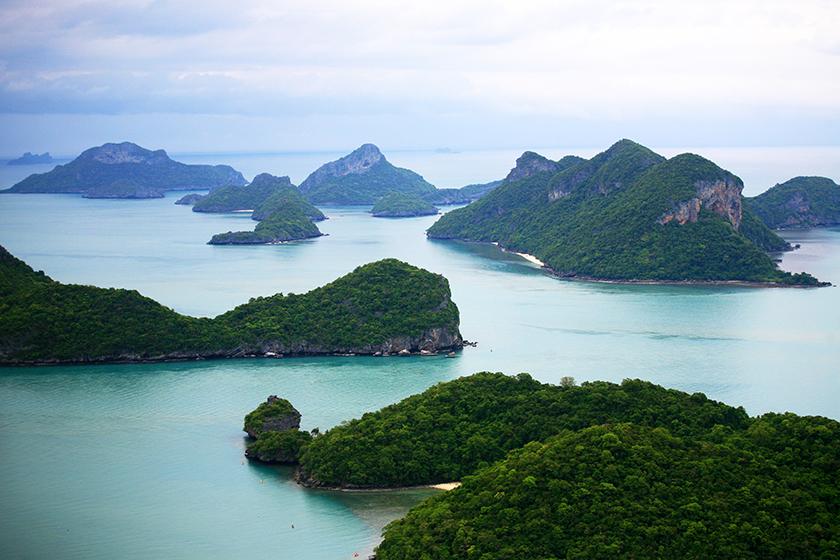 Национален парк Анг Тонг, Ко Самуи, Тайланд / Ang Thong National Marine Park, Koh Samui, Thailand