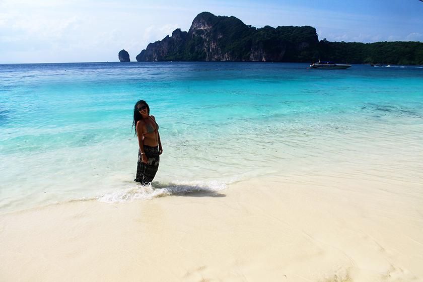Плажът на маймуните, остров Пи Пи Дон (Monkey Beach, Phi Phi Don Island)