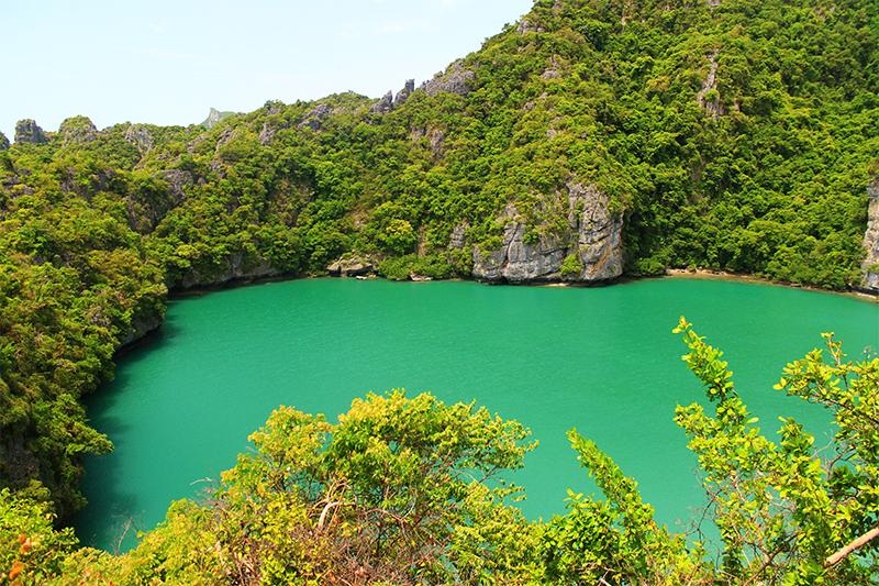 Езерото Thale Nai (Thale Nai Emerald Green Lake)