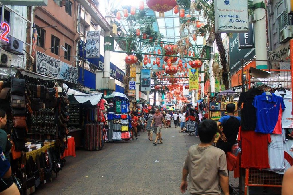 Китайският квартал на Куала Лумпур (Chinatown), Куала Лумпур, Малайзия, Kuala Lumpur, Malaysia