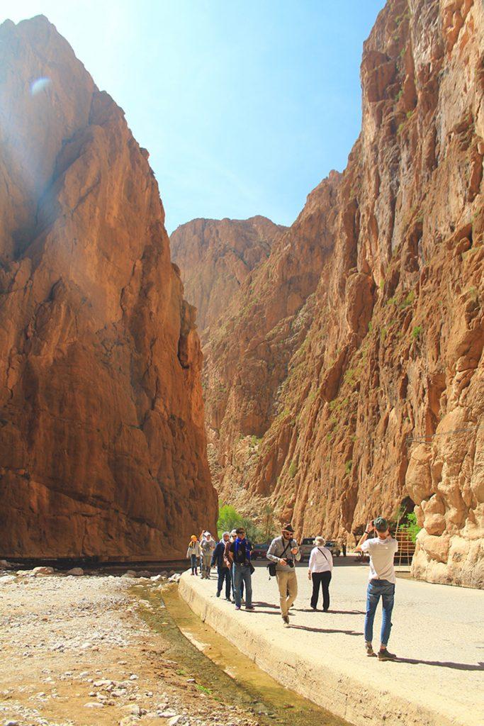 Каньонът Тодра / Todgha Gorge