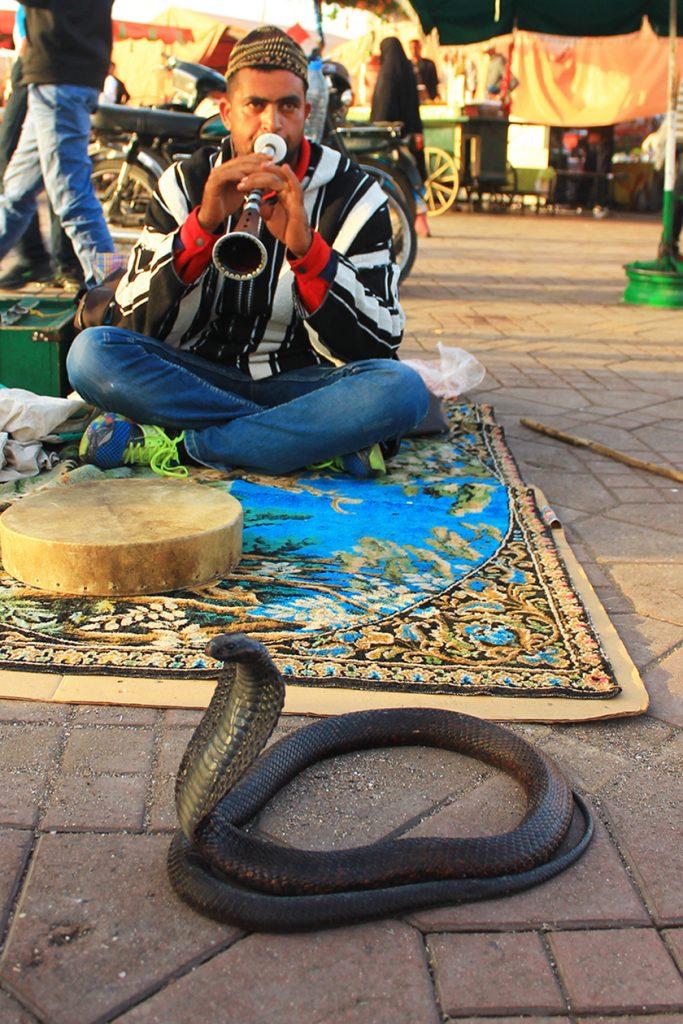 Площад Джама Ел Фна, Маракеш / Jemaa el-Fna Square, Marrakech