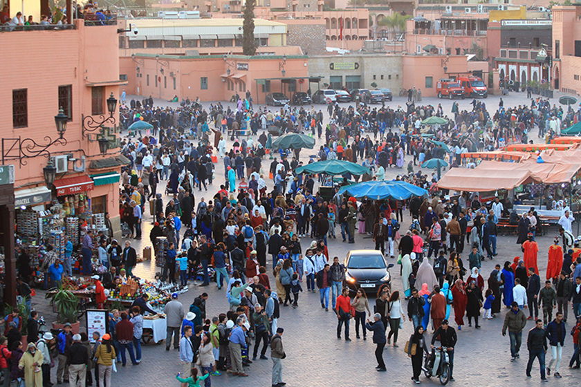 Площад Джама Ел Фна, Маракеш / Jemaa el-Fna Square, Marrakech