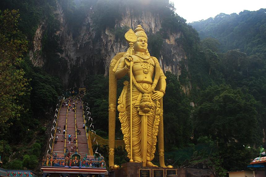 Пещерите Бату (Batu Caves), Куала Лумпур, Малайзия, Kuala Lumpur, Malaysia