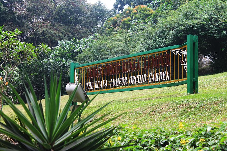 Градината на орхидеите (The Kuala Lumpur Orhid Garden), Куала Лумпур, Малайзия, Kuala Lumpur, Malaysia