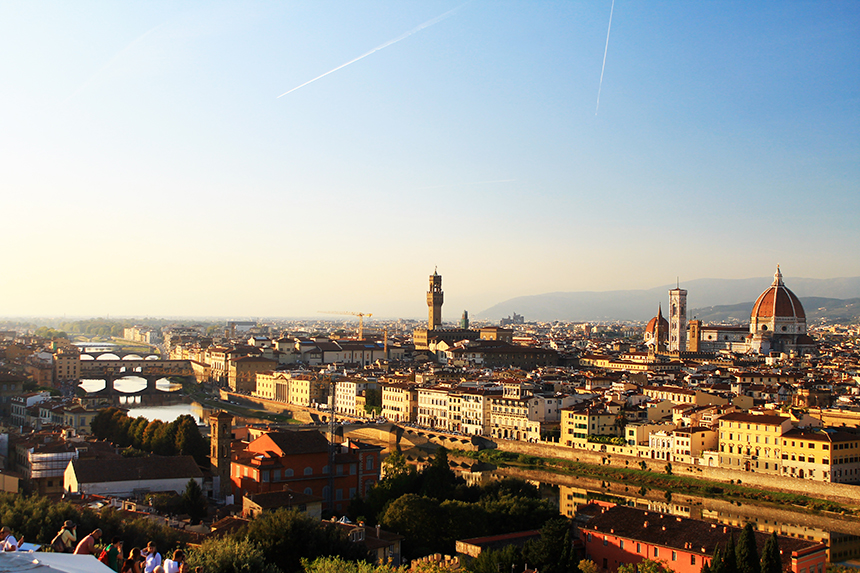 Площад Микеланджело, Флоренция / Piazzale Michelangelo, Florence