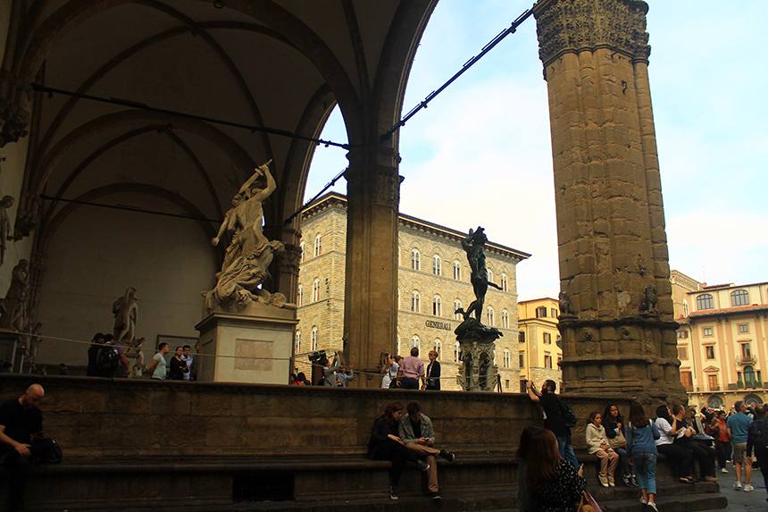 Площад Синьория / Piazza della Signori