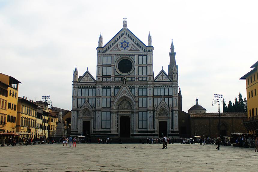Църквата Санта Кроче, Флоренция / (Basilica Santa Croce, Florence