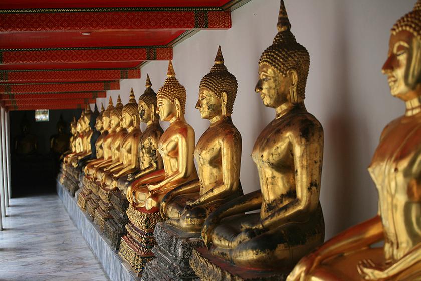Храмът на Полегналия Буда- Wat Pho