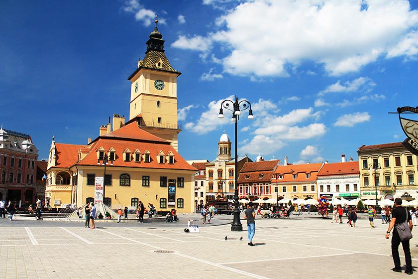 Централният площад, Брашов / Brasov Central Square