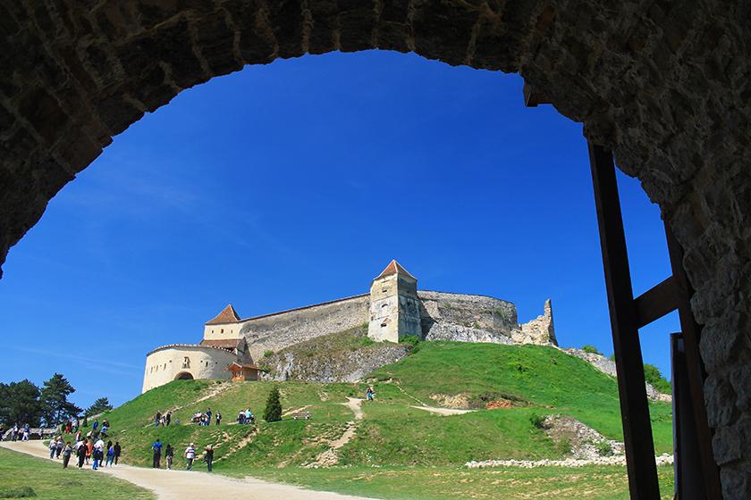 Крепостта Ръшнов / Rasnov Fortress