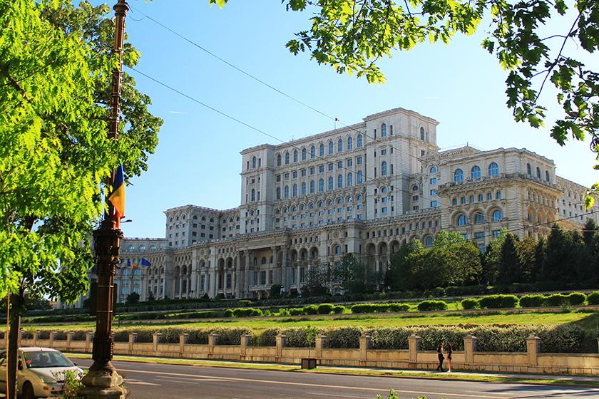 Дворецът на Парламента, Букурещ / Palace of the Parliament, Bucharest/ Palace of the Parliament