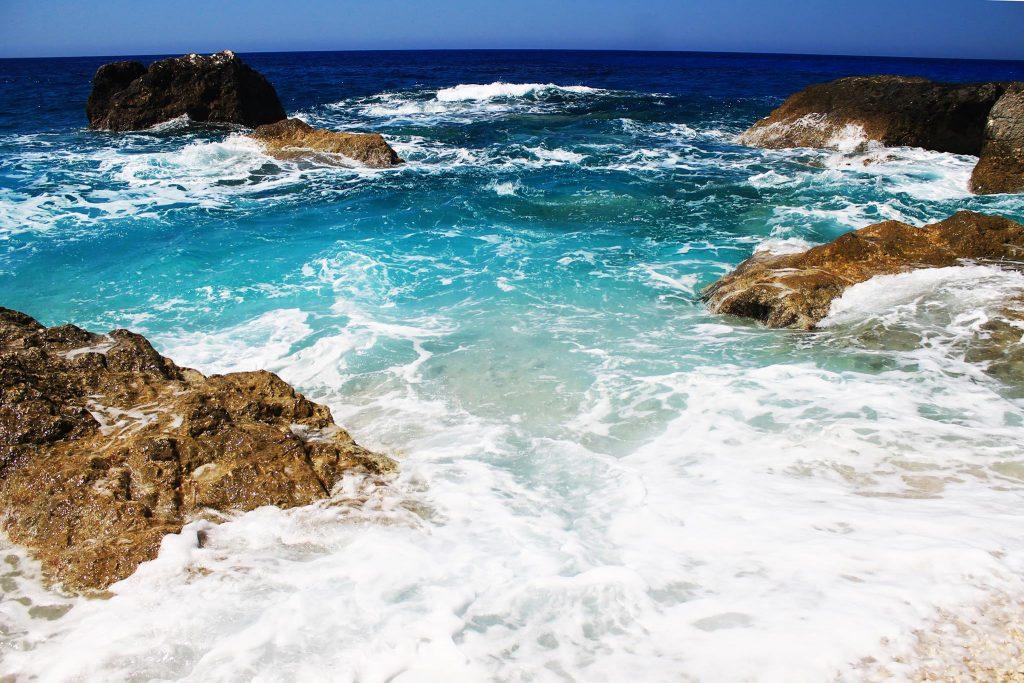 Плажът Порто Кацики / Porto Katsiki Beach