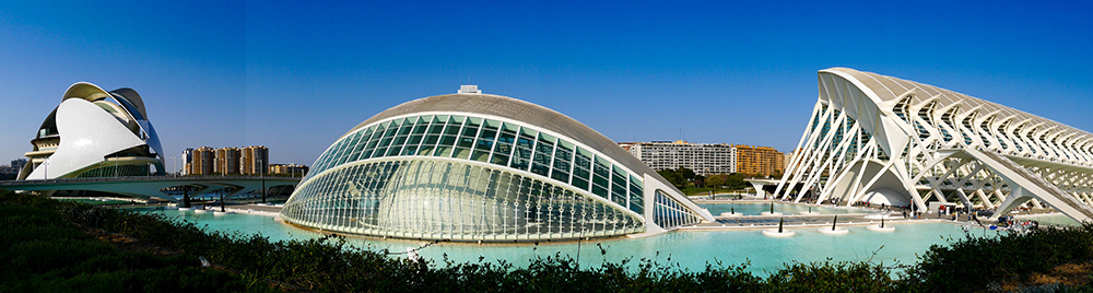 Градът на изкуствата и науките / City of Arts and Sciences