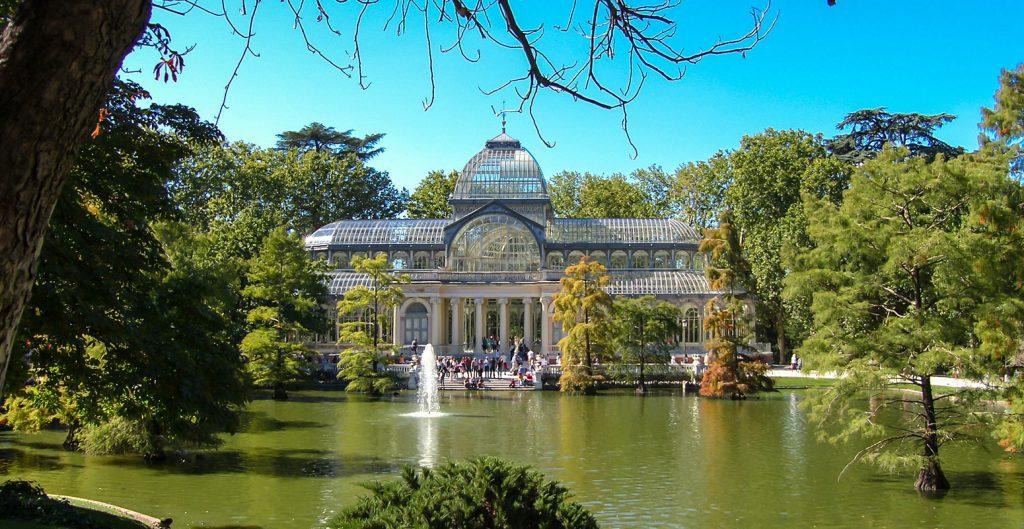 Кристалният дворец, парк Ел Ретиро / Crystal Palace in Retiro Park