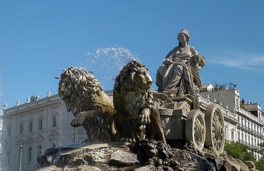 Площад Сибелес / Plaza de Cibeles