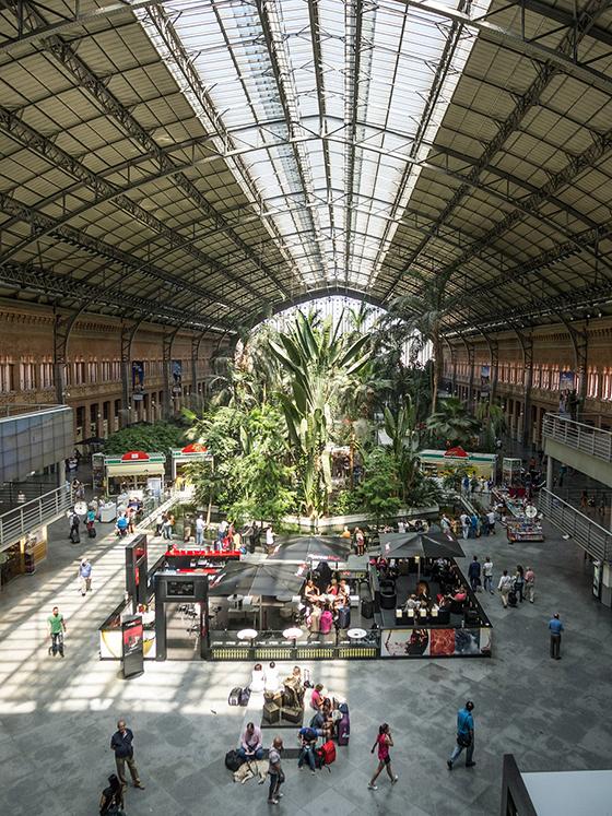 Аточа, Централна гара / Atocha Train Station