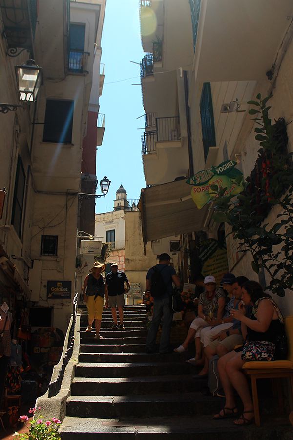 Уличките на Амалфи / The Streets of Amalfi