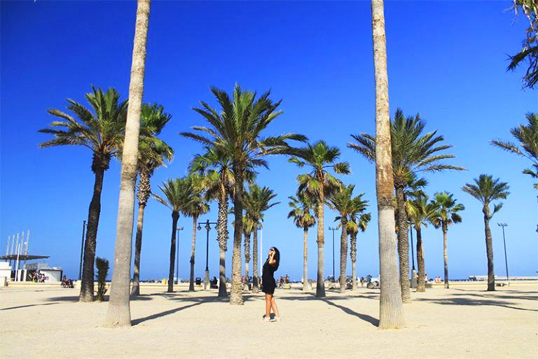 Плажът Malvarrosa / Malvarrosa Beach