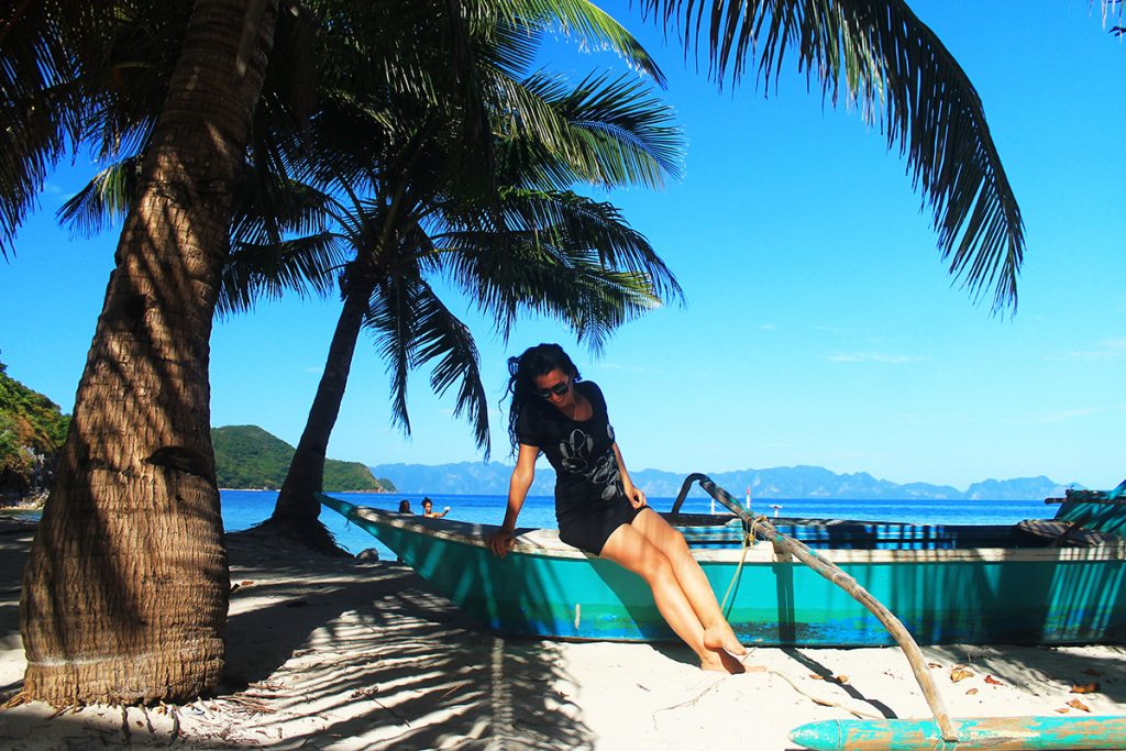 Malcapuya Island, Coron Island, Palawan, Philippines
