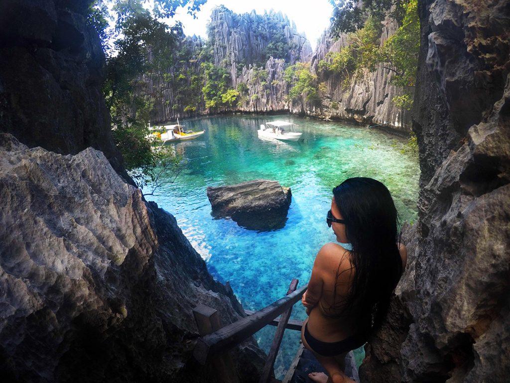 Twin Lagoon, Coron Island, Philippines
