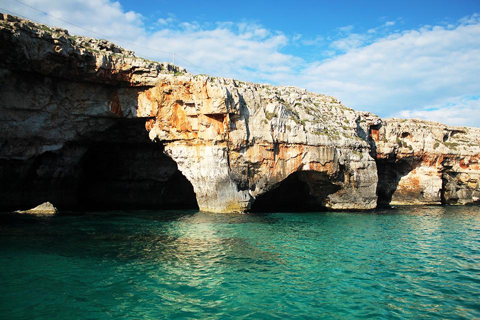 Морските пещери на Саленто, Пулия, Италия / The Sea Caves of Salento, Puglia, Italy