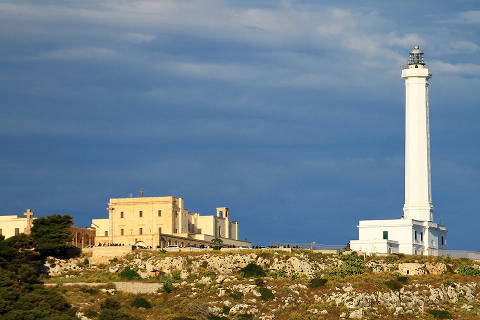Фарът на Санта Мария ди Леука, Саленто, Пулия, Италия / The Lighthouse of Santa Maria di Leuca, Salento, Puglia, Italy