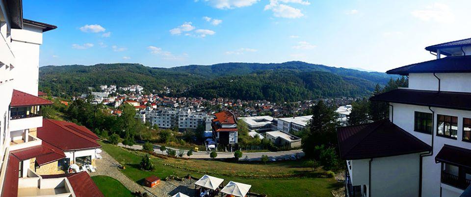 Изглед от хотел Калина Палас