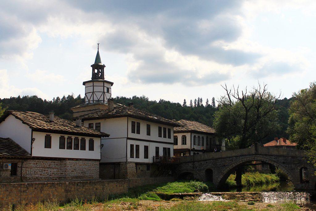 Старият мост и Часовниковата кула, Трявна