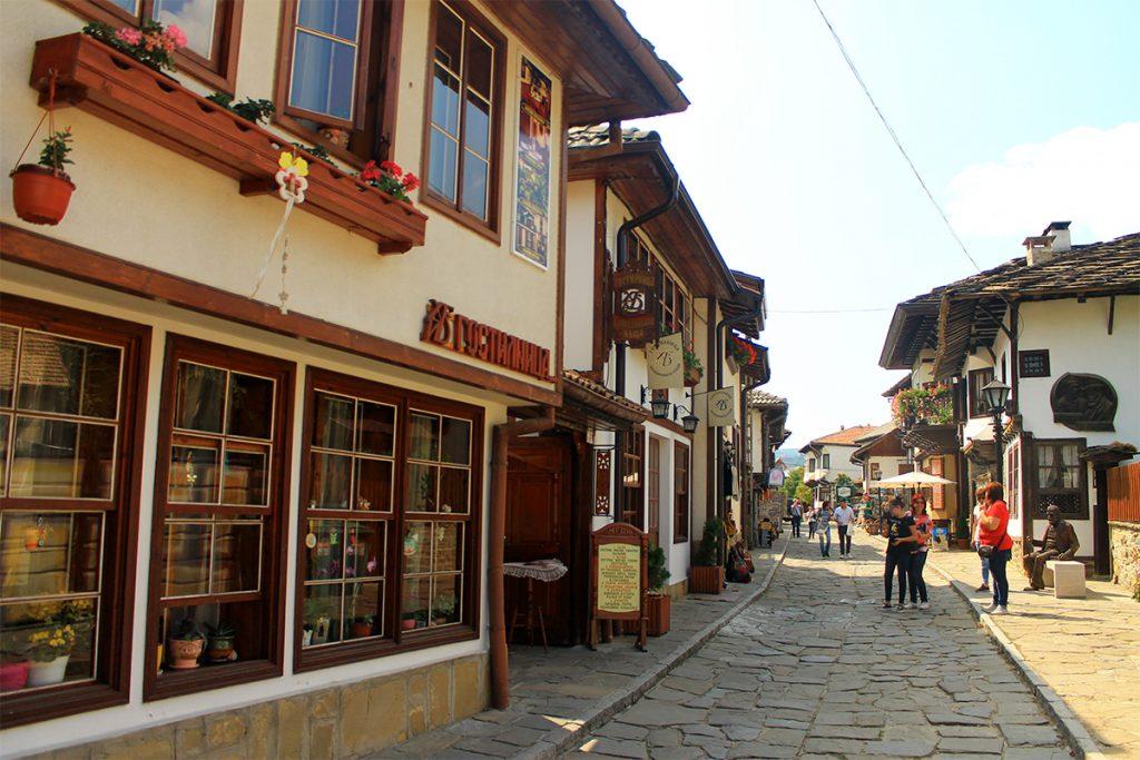 Улица на Старите майстори, Трявна