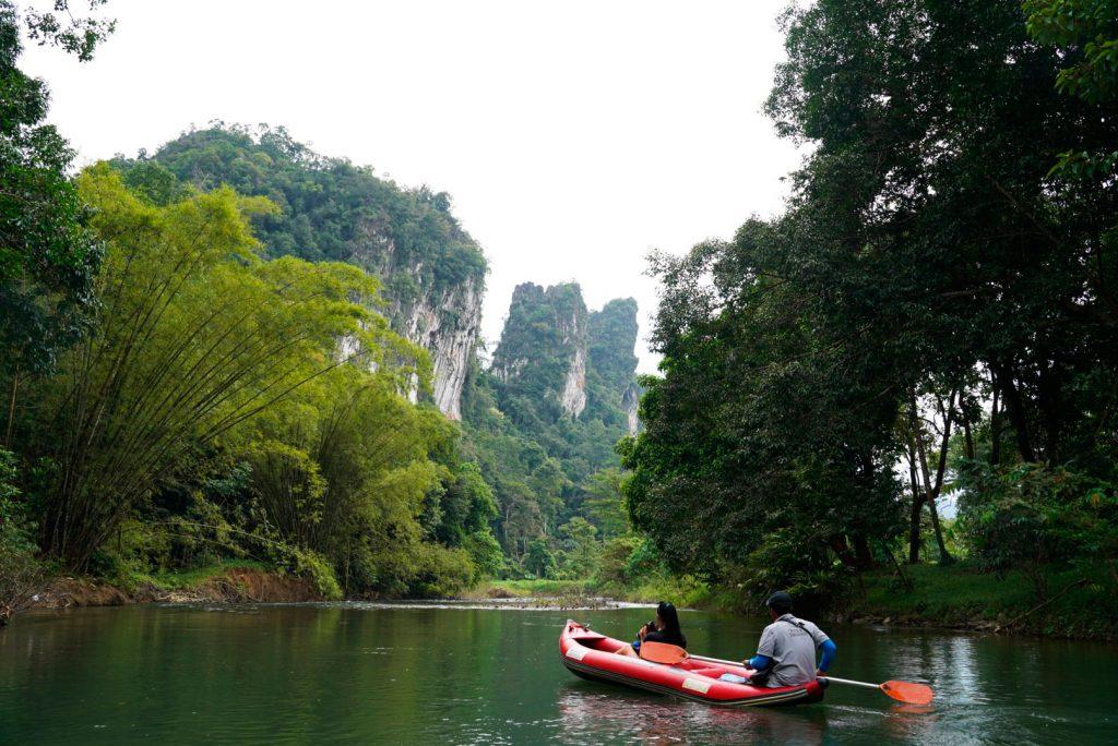 Klong Sok River, Khao Sok National Par