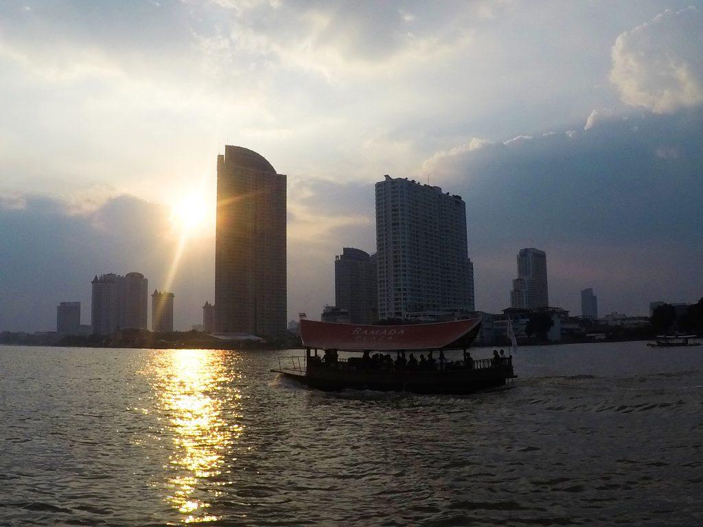 Река Чао Прая / Chao Praya River