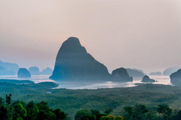 Samet Nangshe Viewpoint, Phang Nga
